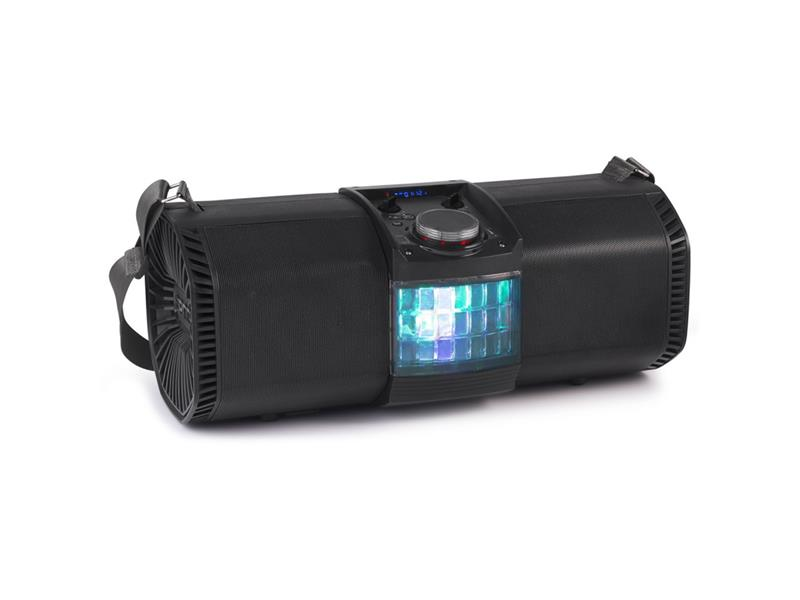 Reproduktor prenosný FENTON Discotron 200W, Party Station USB / SD / BT s LED efektom