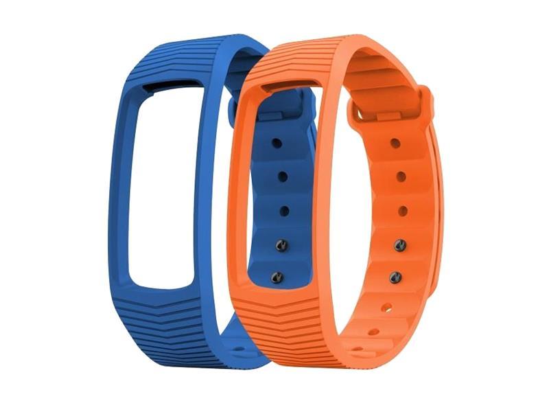 Remienok EVOLVEO pre FITBAND B3, 1x modrá a 1x oranžová farba