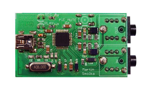 Stavebnica TIPA PT037 USB zvuková karta s PCM2912