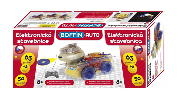 Stavebnice elektronická BOFFIN II 65 AUTO