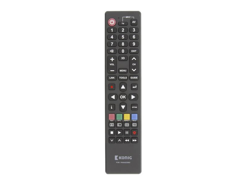 Ovládač TV PANASONIC diaľkový KÖNIG KN-RCPA