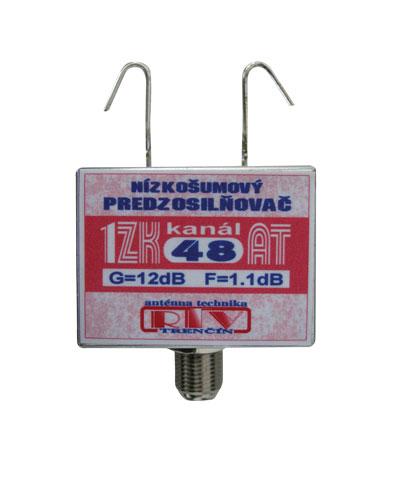Antenni zesilovac 1ZK48AT 12dB F DOPRODEJ