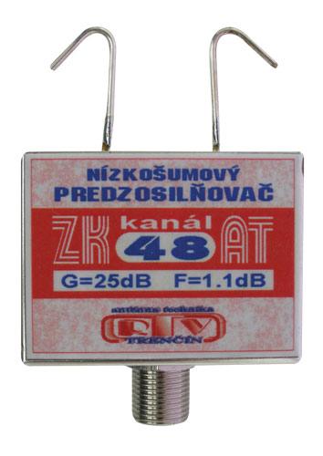 Anténní zesilovač ZK48AT 25dB F