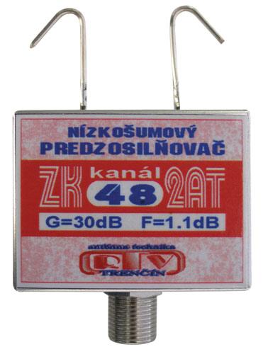 Anténní zesilovač ZK48 2AT 30dB F DOPRODEJ