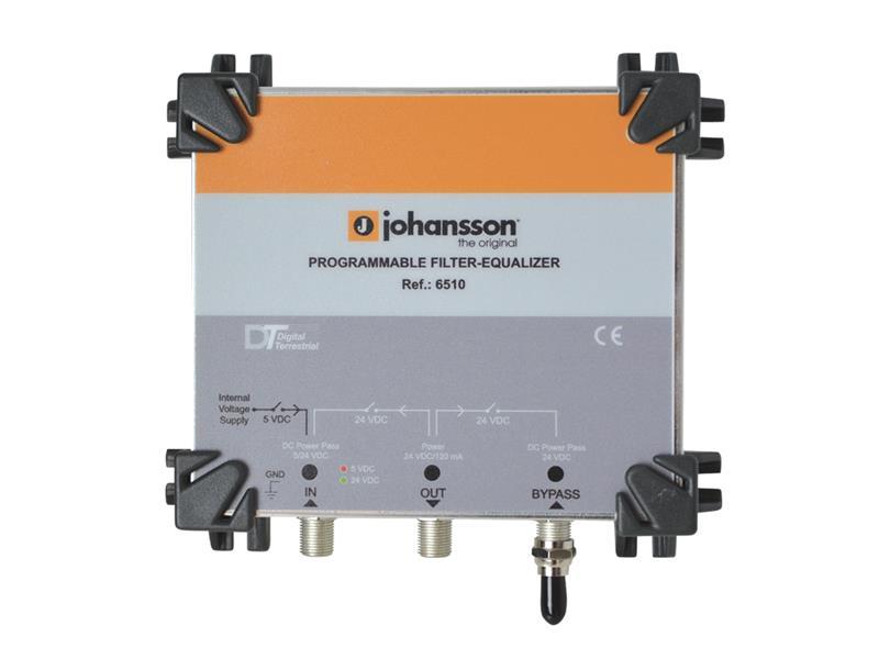 Anténní filtr programovatelný 6510A pro 6 UHF kanálů