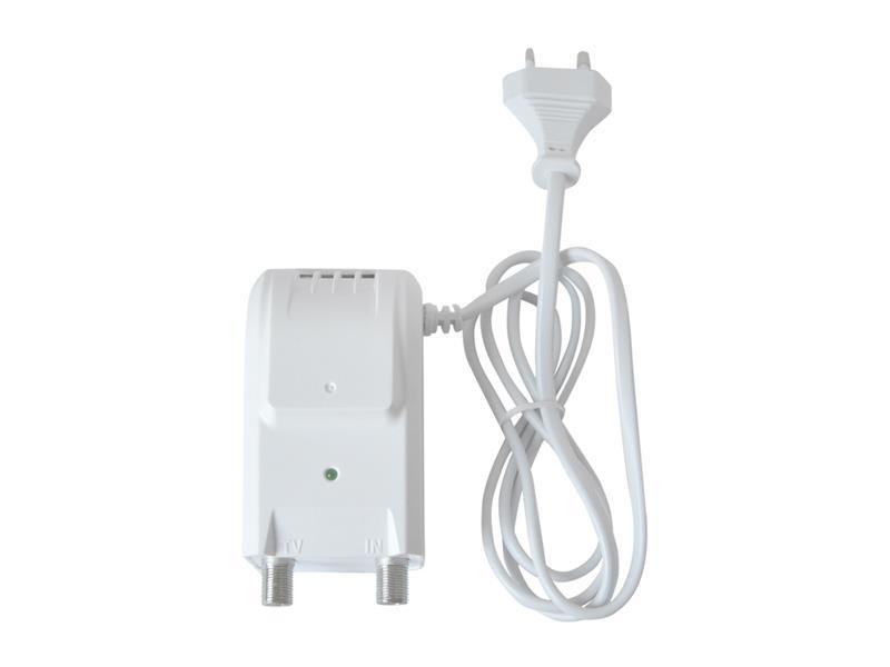 Anténní zdroj 12V/150mA Emme Esse 83951CE s výhybkou (F konektor)