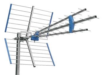 Anténa vonkajšia Emme Esse 45SLC, LTE free, modrá vo fólii, 1145mm