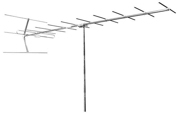 Anténa vonkajšia Emme Esse 15RB3, ICE, Yagi, DAB, VHF, 2970mm