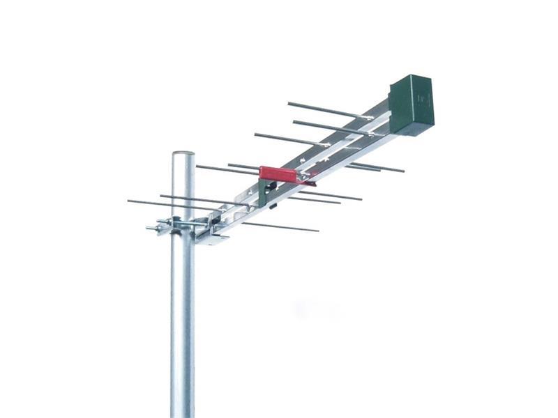 Anténa vonkajšia Emme Esse 2148UM logaritmicko-periodická 5G LTE Free, 636mm