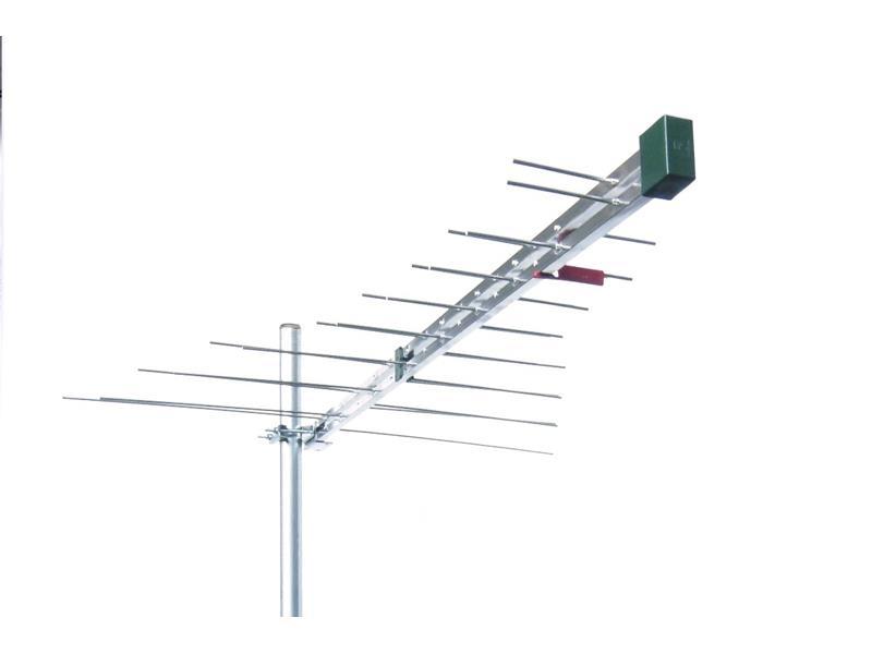 Antena vonkajšia Emme Esse 548U logaritmicko-periodická VHF+UHF 5G LTE Free, 1098mm