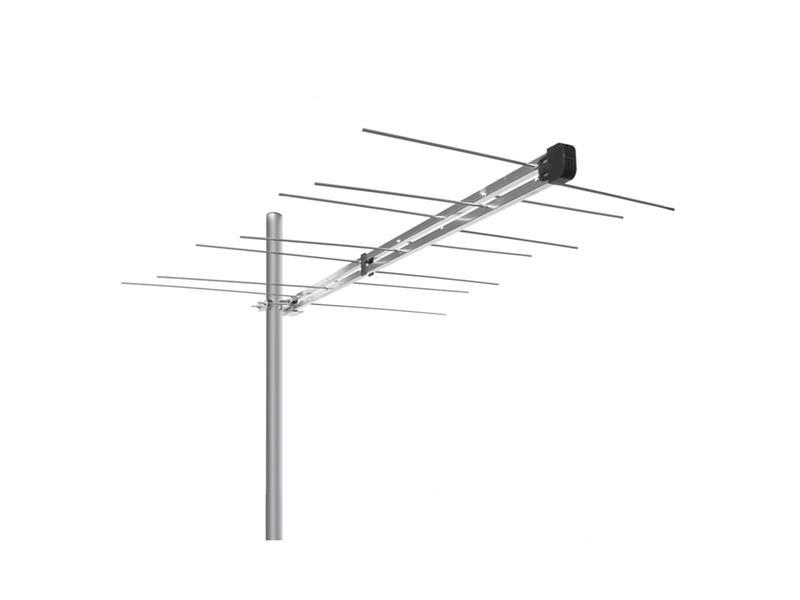 Anténa vonkajšie Emme Esse 512UFC, logaritmicko-periodická, VHF, 1100mm