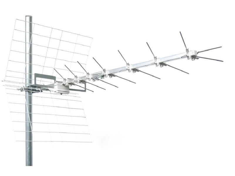 Anténa vonkajšia Emme Esse 44LX4, ICE, kanál 21-37, 1470mm