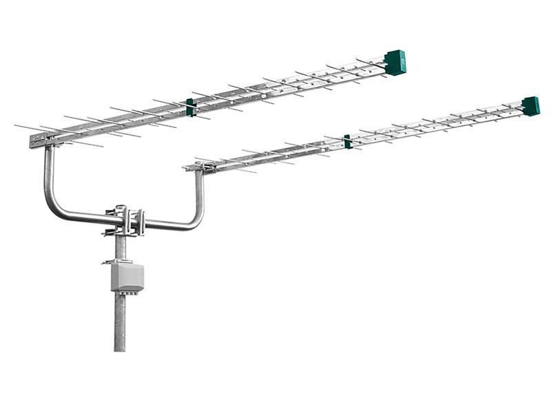 Anténa vonkajšia Emme Esse 2148KIT (antenní dvojča log. peri. 2x1310mm, konzola, zlučovač)