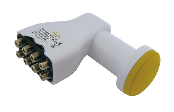 Satelitní konvertor Interstar GI208 0,2dB Octo