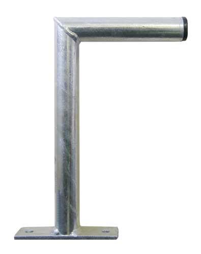 Anténny držiak 25 na stenu malý priemer 28mm výška 12cm žiar.