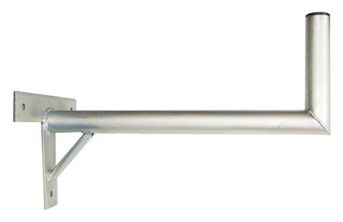 Anténny držiak 50 na stenu sa vzperou priemer 42mm výška 16cm