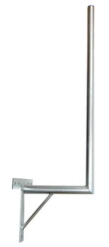 Anténny držiak 35 na stenu sa vzperou priemer 42mm výška 96cm