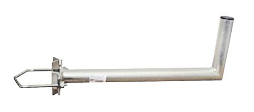 Držiak antén na stožiar s vinklom priemer 42mm výška 16cm žiar.