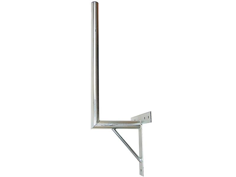 Anténny držiak 25 na stenu sa vzperou priemer 42mm výška 66cm
