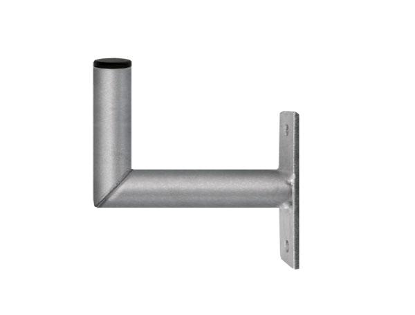 Držiak antén na stenu 15 mini s pásom priemer 28mm výška 8cm žiar.