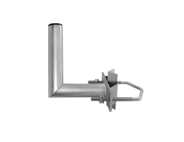 Držiak antén na stožiar 15 s vinklom priemer 35mm výška 17cm