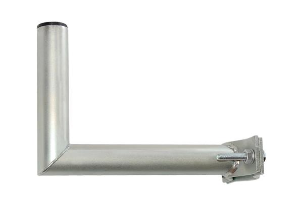Držiak antén na stožiar s vlnkou priemer 42mm žiar. výška 16cm žiar.