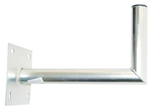 Anténny držiak 35 na stenu so základňou 16x16 priemer 42mm žiar.