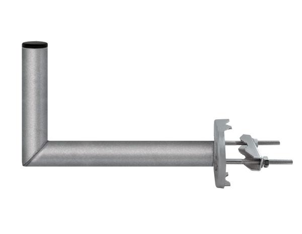 Držiak antén na stožiar so strmeňom priemer výška 16cm 42mm žiar.