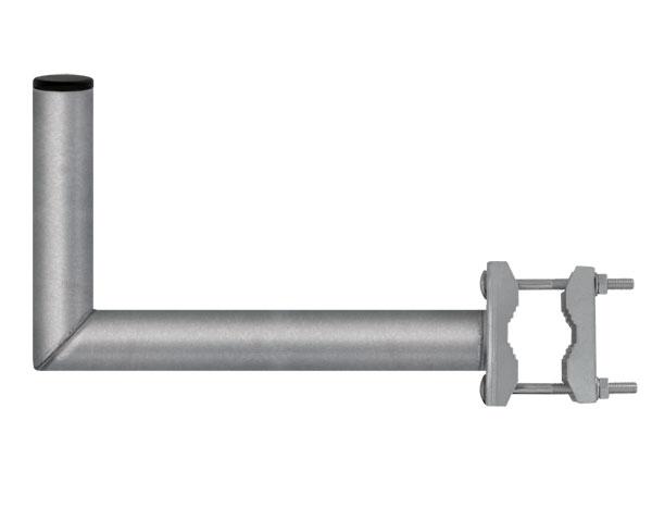 Držiak antén na balkon 35 so strmeňom priemer držiaku 42mm výška 16cm žiar.