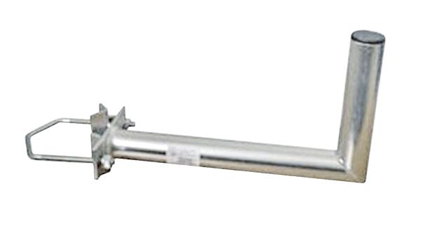 Anténny držiak 50 na stožiar s vinklom rozteč strmeňa 150mm priemer 42mm výška 16cm