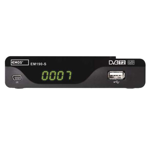 Set-top box EMOS EM190-S