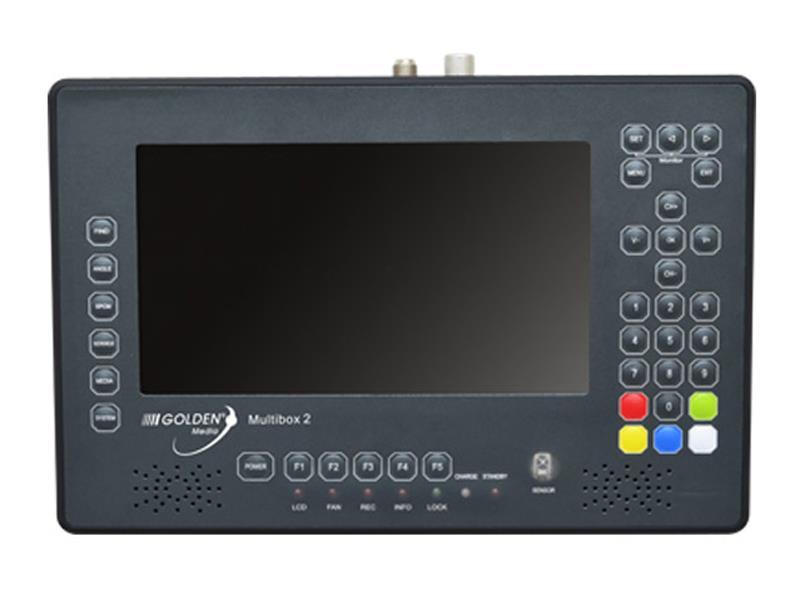 Satelitní měřák Golden Media Multibox 2 (DVB-S2/T2/C)