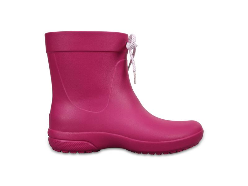CROCS FREESAIL SHORTY RAINBOOT - Berry W7 (37-38)