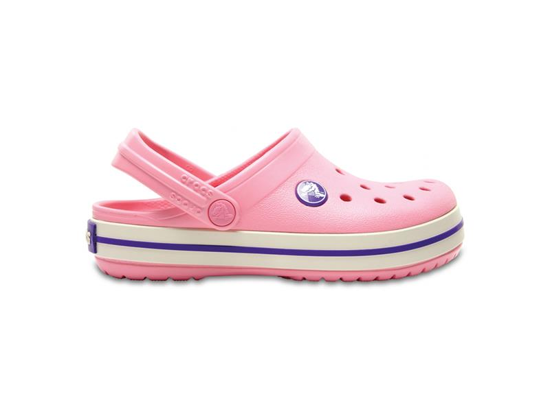 CROCS CROCBAND KIDS - Peony Pink/Stucco J2 (33-34)