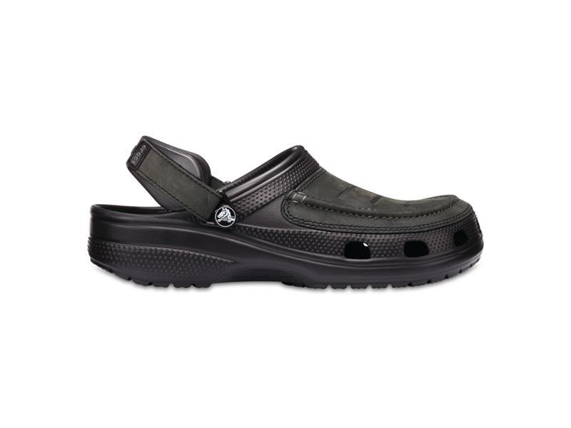 Topánky Crocs Yukon Vista Clog - Black/Black M9 (42-43)