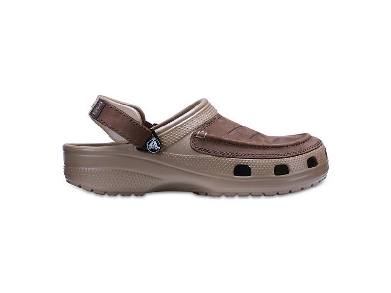 Topánky Crocs Yukon Vista Clog - Espresso/Khaki M10 (43-44)
