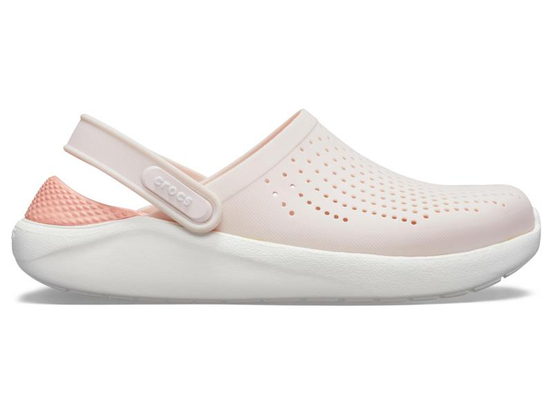 CROCS LITERIDE CLOG - Barely Pink/White M7/W9 (39-40)