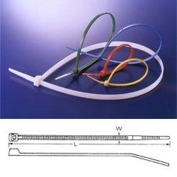 Pásek stahovací standard 120x2.5mm černý *