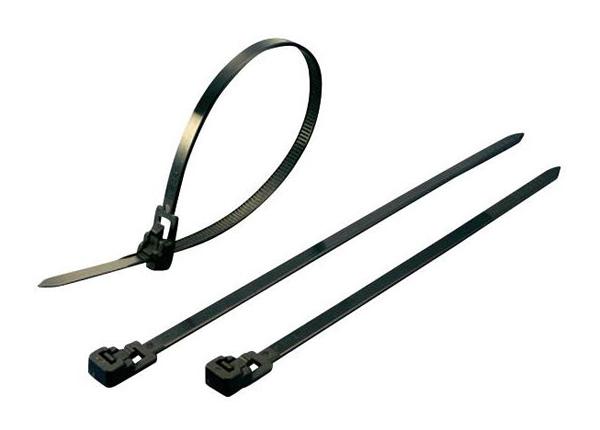 Stahovací rozepínací pásek KSS HVC125, 125 x 4,5 mm, transparentní