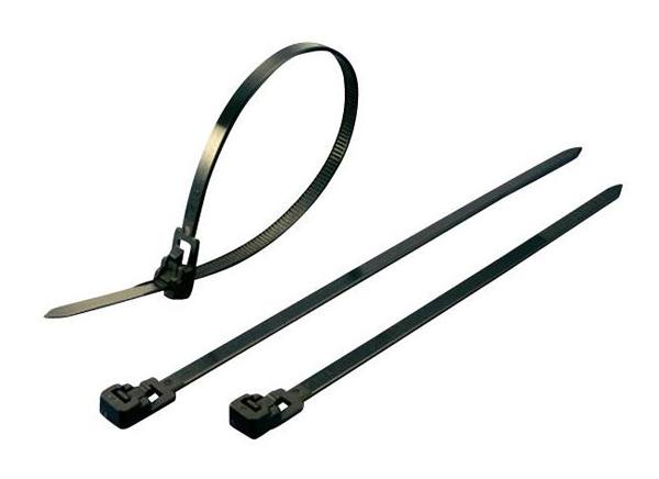 Stahovací rozepínací pásek KSS HV150S, 150 x 4,5 mm, transparentní