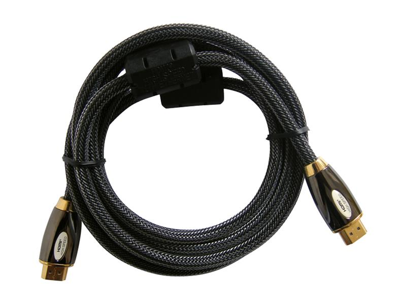 Kábel HDMI - HDMI 10m HQ (gold,ethernet,filtr) 4K