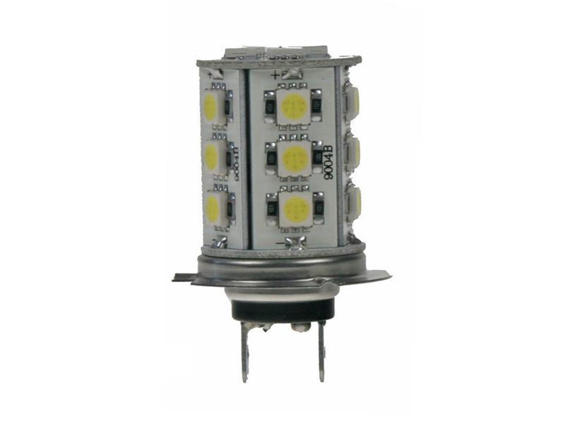 LED žárovka 12V, H7, 18LED/3SMD