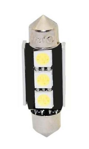 LED žárovka 12V s paticí sufit(36mm), 3LED/3SMD s chladičem 9523002cb