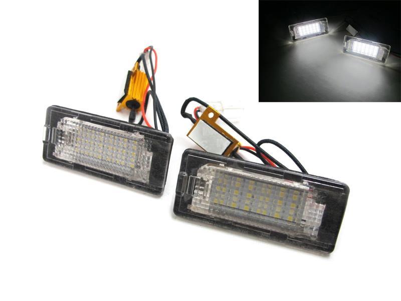 LED osvetlenie ŠPZ AUDI / SEAT / ŠKODA / VW