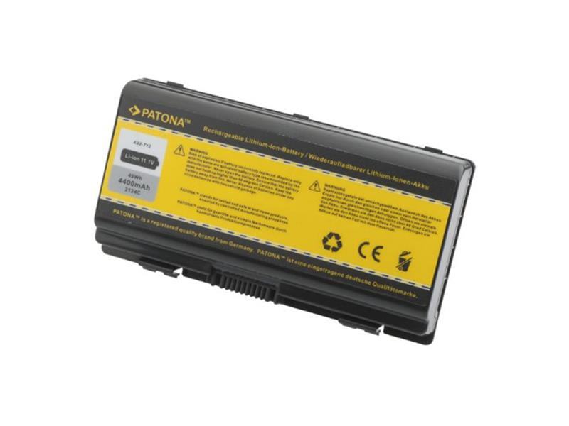 Batéris notebook ASUS X51 / T12 4400mAh 11.1V PATONA PT2124