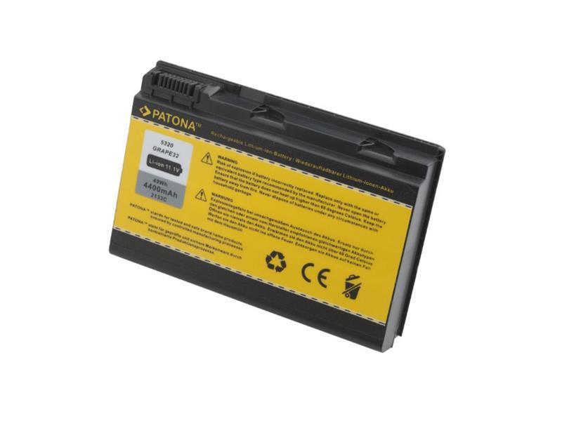 Batéria notebook ACER EXTENSA 5220 / 5620 4400mAh 11.1V PATONA PT2133