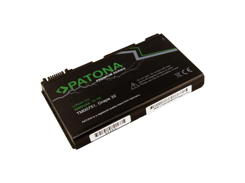 Batéria notebook ACER EXTENSA 5220 5200mAh 11.1V premium PATONA PT2340