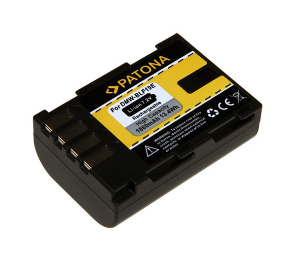 Batérie foto PANASONIC DMW-BLF19 1860mAh PATONA PT1155