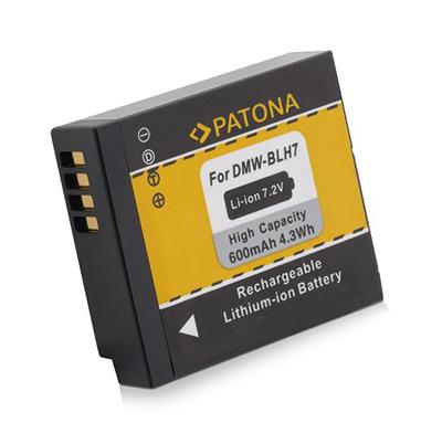 Batérie foto PANASONIC DMW-BLH7E 600mAh PATONA PT1200