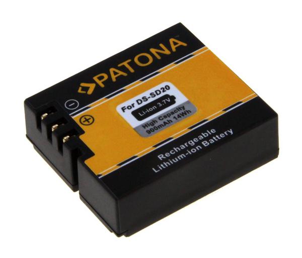 Batérie foto ROLLEI DS-SD20 900mAh PATONA PT1234